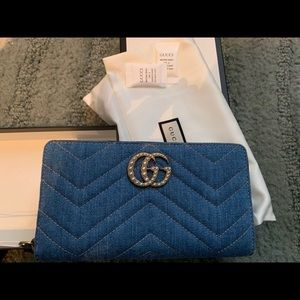 LIMITED EDITION Brand new Gucci marmont wallet